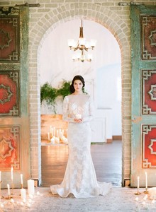 Georgia Reyes bridal gown