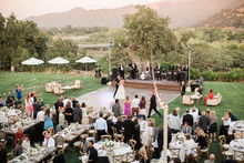 Sunstone winery wedding