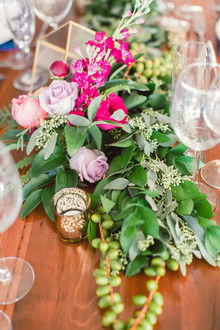 Vibrant wedding flowers