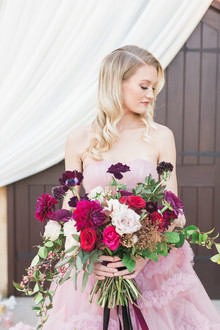 Valentine's bridal bouquet