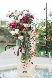 Valentine's Day wedding flowers