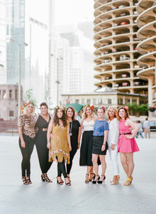 Bachelorette weekend in downtown Chicago