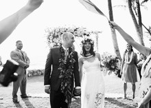 Hawaii wedding ceremony
