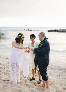 Honolulu Hawaii Wedding