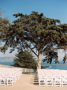 Coastal wedding