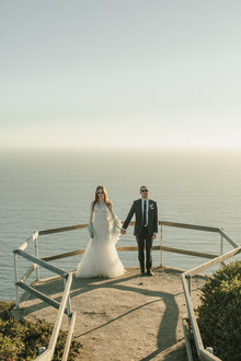 Muir woods wedding portraits