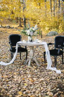 Fall wedding inspiration at Primo Restaurant