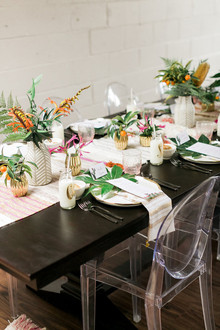 Colorful Palm Springs Inspired Bridal Shower