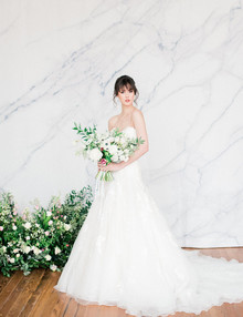 Modern bridal fashion