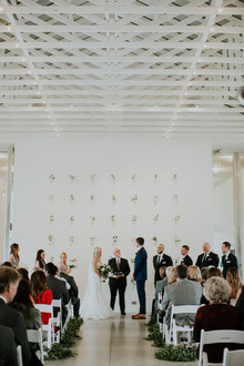 Prospect House wedding ceremony