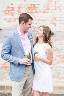Havana inspired engagement party