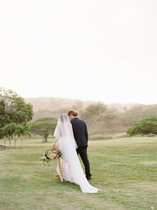 Oahu wedding portrait