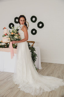 Spring bridal fashion