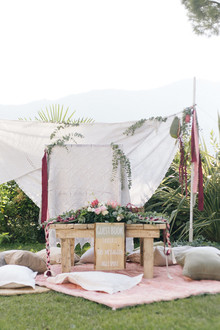 Bohemian guest table