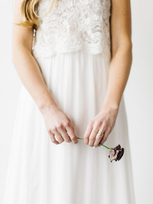 Organic bridal fashion