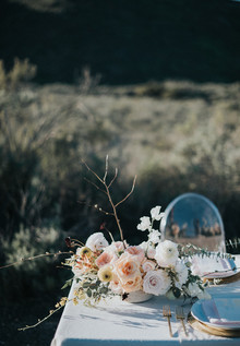Spring boho wedding ideas
