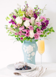 Mother's Day brunch ideas with Teleflora