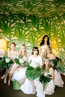 Palm Springs bridesmaids