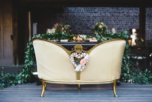 Romantic sweetheart table