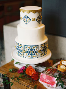 Spanish wedding cake
