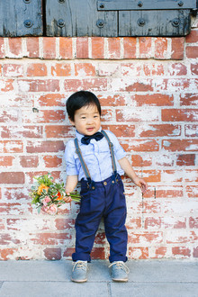 Cute ring bearer