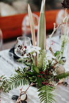 Fern centerpieces