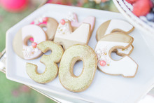 30th birthday cookies