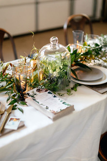 Greenery centerpiece