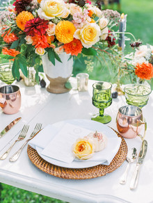 Summer place setting