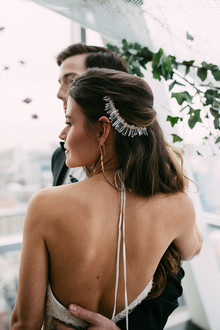 Wayfarer Bride headpiece