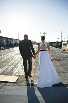 Modern DTLA wedding inspiration