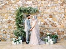 Romantic Spring wedding inspiration from Greece