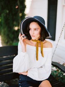 Anthropologie floppy hat