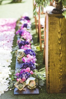 Tropical wedding flowers
