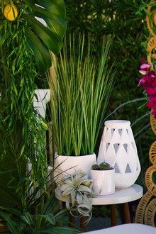 Tiki inspired bridal shower