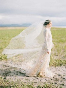 Melinda Rose Design wedding veil
