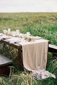 Organic tablescape