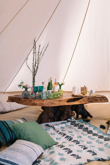 Glamping decor