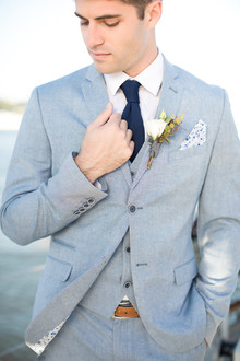 Nautical groom