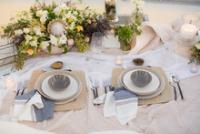Coastal place settings