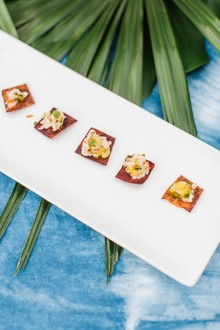 Tropical appetizers