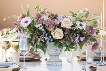 Dusty pastel flowers