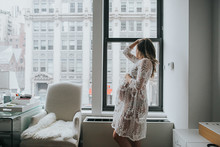 Gramercy Park maternity photos