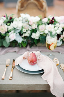Fruit place setting