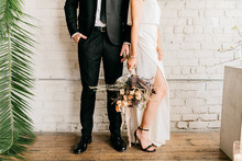Romantic modern industrial wedding inspiration