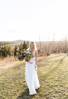 Truvelle Carrall wedding gown