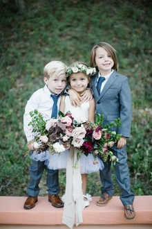 kids in wedding