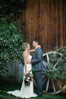 Elegant rustic wedding at Rancho Las Lomas