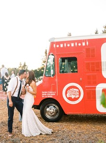 Ice truck for wedding