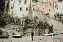 intimate Amalfi Coast elopement in Furore